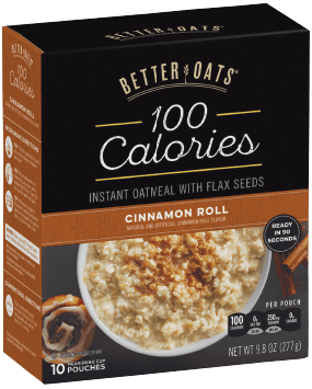 Better Oats 100 Calorie Cinnamon Roll