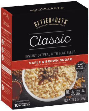 Better Oats® Classic Maple & Brown Sugar