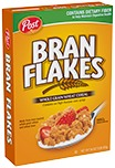 Bran Flakes cereal box