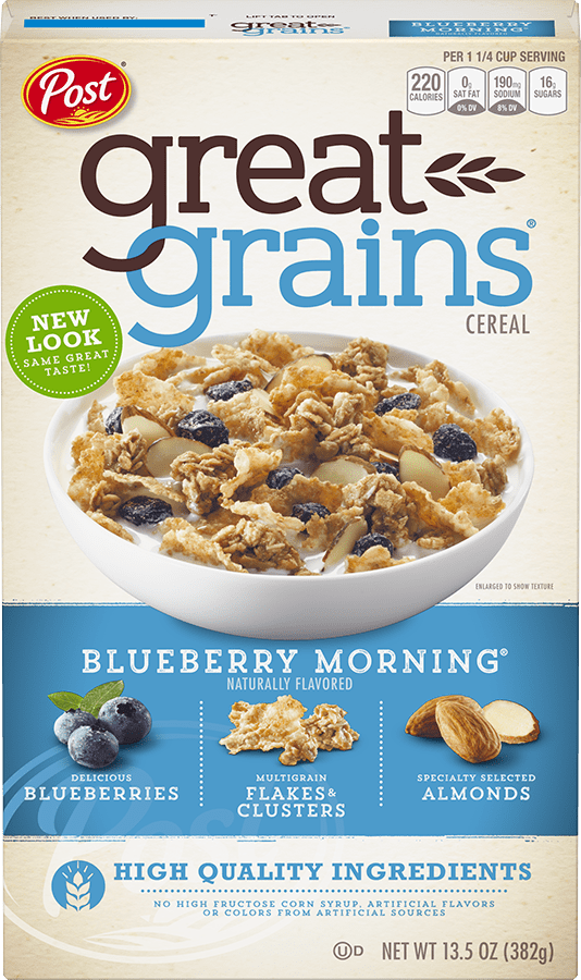 Box of Great Grains Blueberry Morning