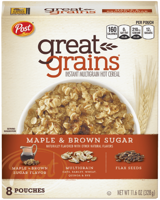 Box of Great Grains Maple & Brown Sugar Hot Cereal