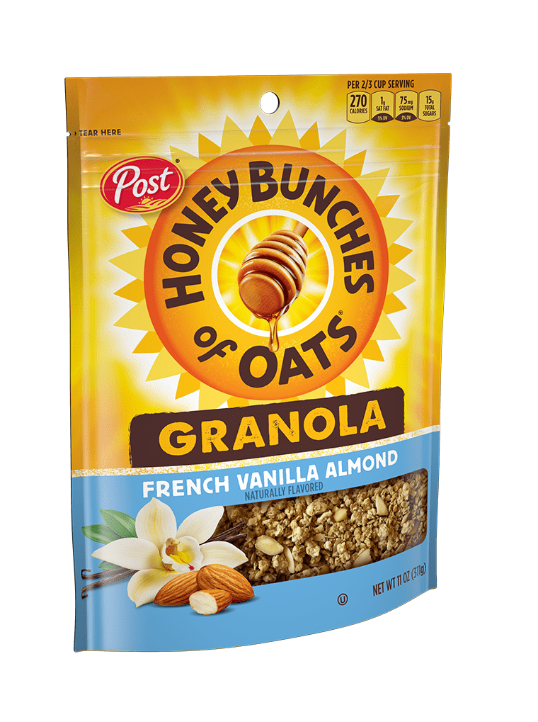 HBO Granolla French Vanilla Almond Product Bag