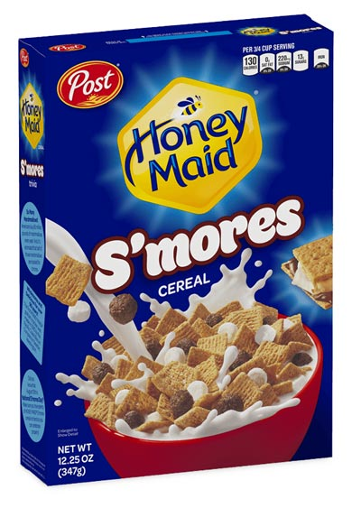 Honey Maid S'mores cereal box