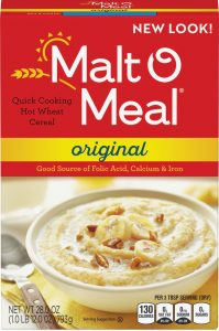 Package of Malt O Meal Original Box
