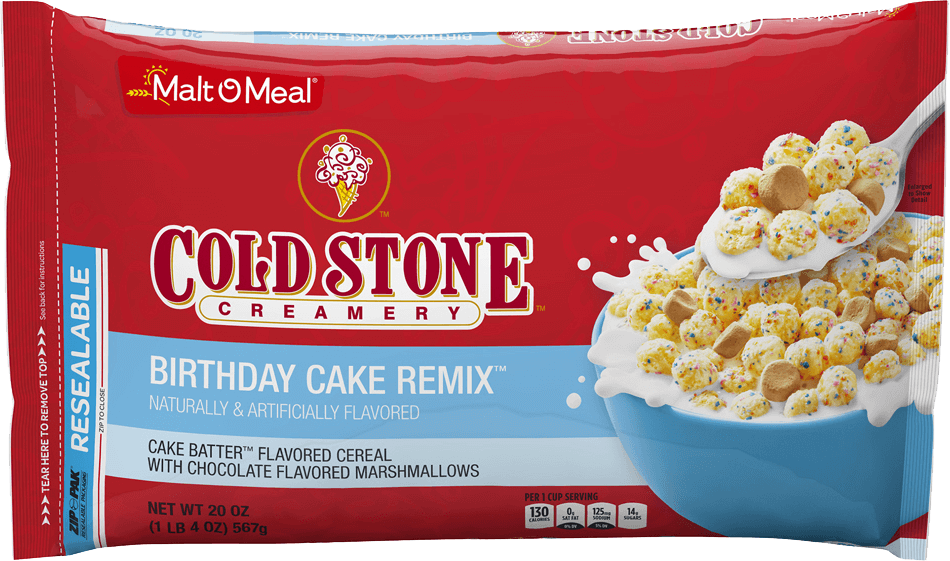 Malt-O-Meal Birthday Cake Remix