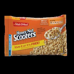 Malt O Meal Honey Nut Scooters