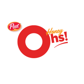Post Honey Oh's cereal logo