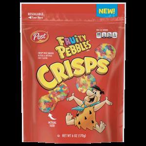 Fruity PEBBLES™ Crisps Packaging