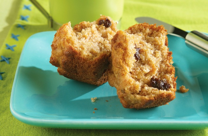 Bran Flakes double apple bran cereal muffins recipe