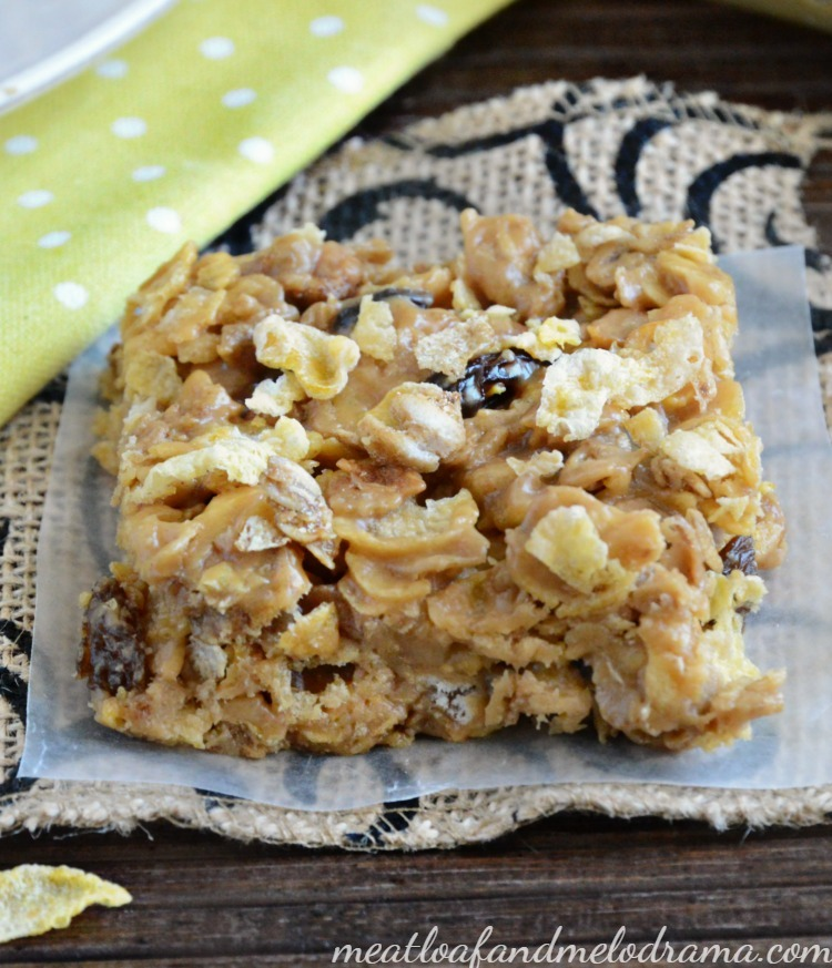 Honey Bunches of Oats peanut butter honey oat cereal bars recipe