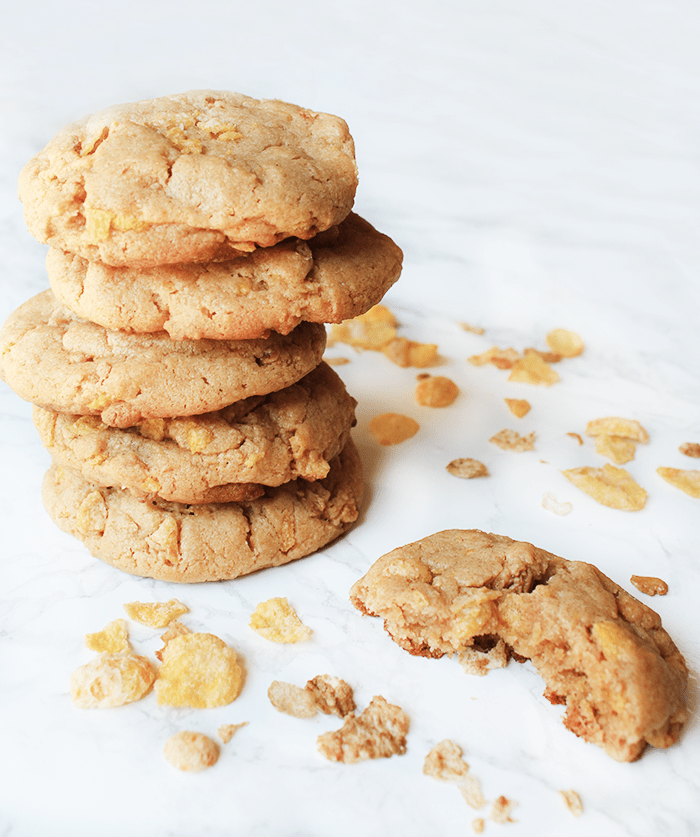 Peanut Butter Honey Bunches of Oats Cookies | Post ...