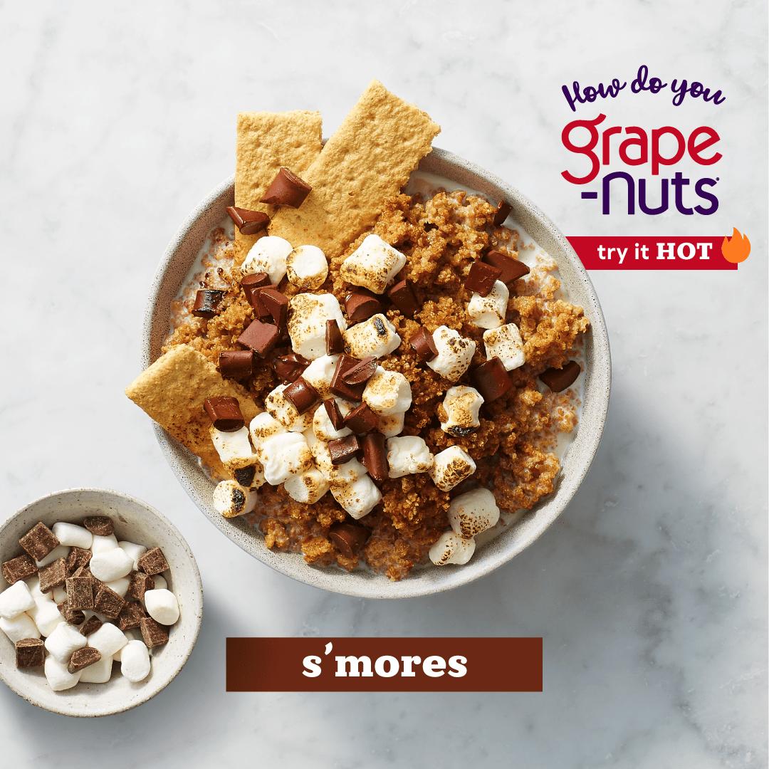 Grape Nuts Cereal Hot Recipe Smores