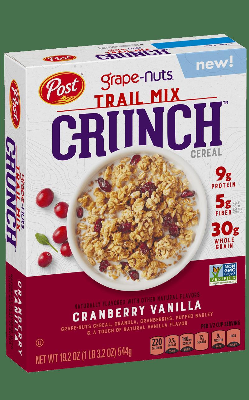 Box of Grape-Nuts Trail Mix Crunch