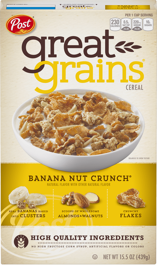 Box of Great Grains Banana Nut Crunch