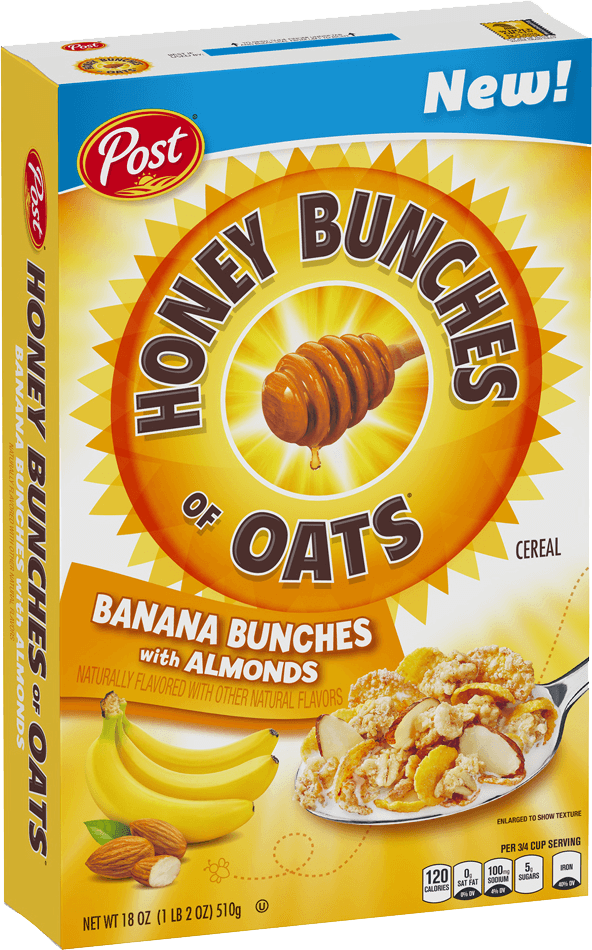 Honey Bunches of Oats Banana Bunches