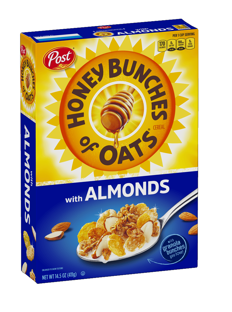 HBO W/ Almonds - Product Box