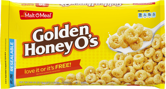 Packaging of Golden Honey O's