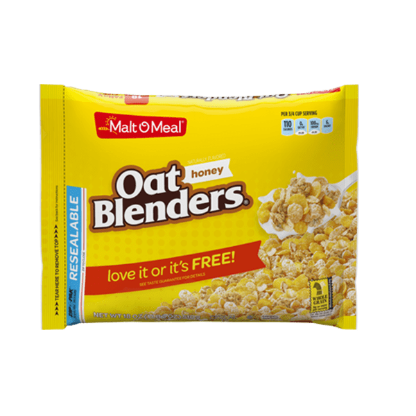 MaltOMeal Oat Blenders Honey